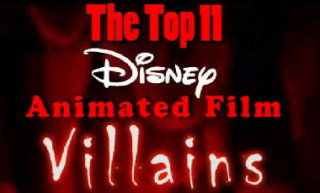 Nostalgia Critic: Top 11 Disney Villains