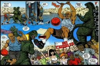 AT4W: Godzilla vs Barkley