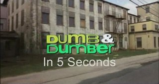 Film Brain: 5 Second Movies: Dumb and Dumber