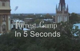 Film Brain: 5 Second Movies: Forrest Gump