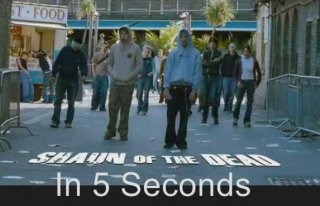 Film Brain: 5 Second Movies: Shaun of the Dead