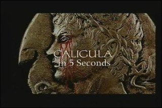 Brad Jones: Caligula in 5 Seconds