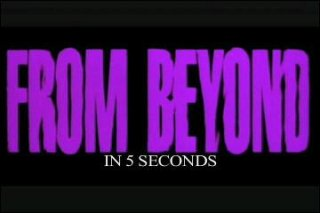 Diamanda Hagan: From Beyond in 5 Seconds