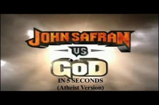 Diamanda Hagan: John Safran Versus God in 5 Seconds (Atheist attacking Theist Version)