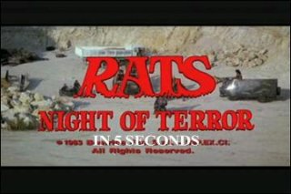 Diamanda Hagan: RATS: Night of Terror in 5 Seconds