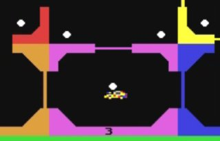 Weird Video Games: Space Taxi (Commodore 64)