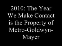 Confused Matthew: 2010: The Year We Make Contact (Part 3)