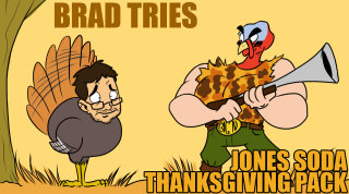 Brad Jones: Brad Tries Jones Soda Thanksgiving Packs
