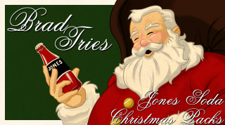 Brad Jones: Brad Tries Jones Soda Christmas Packs