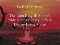 Confused Matthew: The Lion King II: Simba's Pride (Part 2)