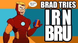 Brad Jones: Brad Tries Irn Bru