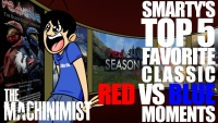 The Machinimist: Smarty's Top 5 Favorite Classic Red vs Blue Moments