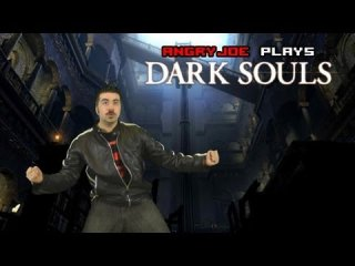 Angry Joe Show: Angry Joe Plays Dark Souls - Easter Egg & First Boss!