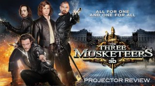 Film Brain: Projector: The Three Musketeers 3D