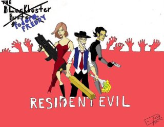 Blockbuster Buster: Resident Evil review by Fedora Freddy