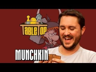 TableTop: Munchkin: Felicia Day, Steve Jackson and Sandeep Parikh join Wil Wheaton on TableTop, Episode 5