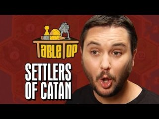 TableTop: Settlers of Catan: Wil Wheaton, Jane Espenson, James Kyson, Neil Grayston. TableTop Episode 2