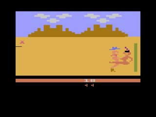 Weird Video Games: Custer's Revenge (Atari 2600)