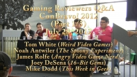 Clan of the Gray Wolf: ConBravo! 2012 - Gamingers Panel (Part 1/5)