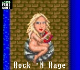 Weird Video Games: Rock 'N Rage