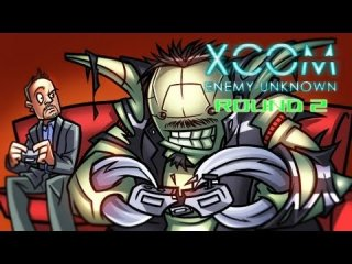 Angry Joe Show: Angry Angry Aliens XCOM - AngryJoe vs. TotalBiscuit - Round 2