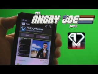 Angry Joe Show: AngryJoeShow IPhone & Android App is Here!