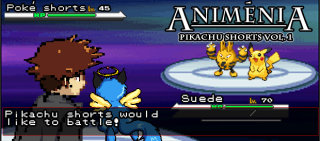 Suede: Animenia: The Pikachu Shorts, Vol. 1