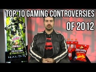 Angry Joe Show: Top 10 Gaming Controversies of 2012!