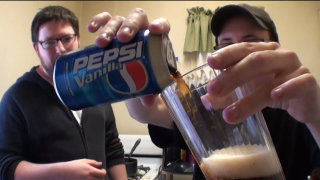 Brad Jones: Brad Tries Pepsi Vanilla