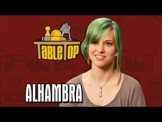 TableTop: Alhambra: Dodger Leigh, Ashley Johnson, and Shane Nickerson join Wil on TableTop, episode 17