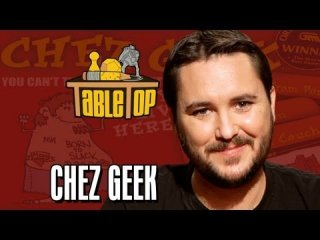 TableTop: Chez Geek: Paul Sabourin, Storm DiCostanzo, and Andrew Hackard Join Wil on TableTop, episode 18