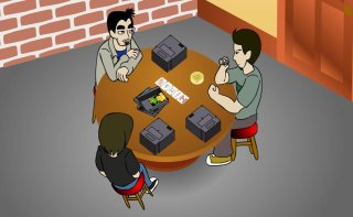 Brad Jones: GAME BOYS The Animated Series: Poker Night