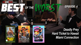 Red Letter Media: Best of the Worst Episode 4: Deadly Prey, Hard Ticket to Hawaii, and Miami Connection