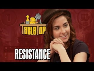 TableTop: The Resistance: Felicia Day, Allison Scagliotti, Ashley Clements, and Amy Okuda on TableTop SE2E02