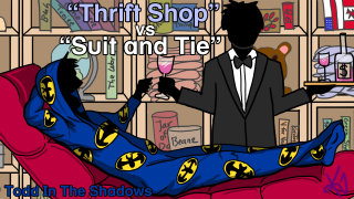 Todd in the Shadows: Thrift Shop vs. Suit & Tie