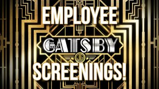 The Machinimist: Employee Screenings: The Great Gatsby