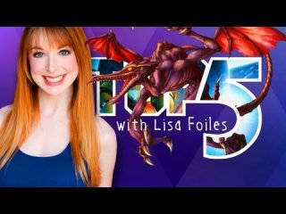 Lisa Foiles: TOP 5 FIRE BREATHING DRAGONS