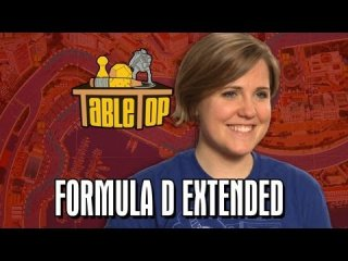 TableTop: TableTop Extended Edition: Formula D (Wil Wheaton, Grace Helbig, Greg Benson, Hannah Hart)