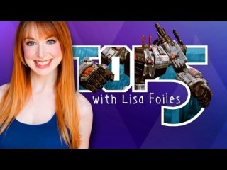 Lisa Foiles: Top 5 Giant Robots
