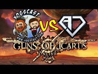Angry Joe Show: Guns of Icarus Event: AJS vs Yogscast!