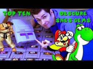 Mike Matei: Top 10 Obscure SNES Gems Super Nintendo