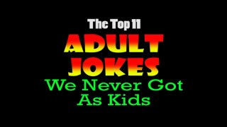 Nostalgia Critic: Nostalgia Critic's Top 11 Adult Jokes We Never Got as Kids