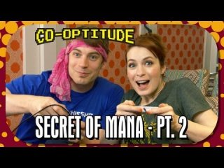 Co-Optitude: Felicia Day and Ryon Day Play Secret of Mana Pt. 2 - Co-Optitude Episode 13