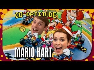 Co-Optitude: Felicia Day and Ryon Day Play Super Mario Kart: Co-Optitude Episode 14