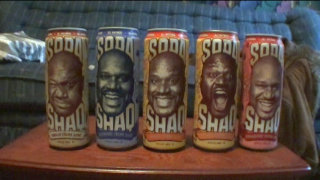 Brad Jones: Brad Tries Soda Shaq