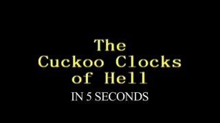 Diamanda Hagan: The Cuckooclocks of Hell in 5 Seconds