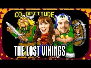 Co-Optitude: Felicia Day Plays The Lost Vikings with Ryon Day: Co-Optitude Ep 18