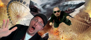 Nostalgia Critic: NC and Cinema Snob: Sharknado