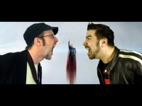 Angry Joe Show: AngryJoe vs. Nostalgia Critic - Man Of Steel Review Promo!