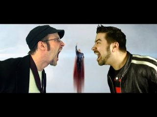 Angry Joe Show: AngryJoe vs. Nostalgia Critic - Man Of Steel Promo!